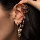 fashion color diamond big ear clip NHAYN336577