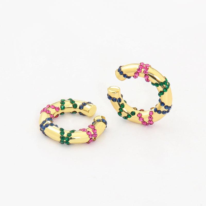 fashion colorful ear clips wholesale NHAYN336579