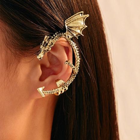 Clips de oreja de aleación en forma de dragón punk al por mayor NHAYN336608's discount tags