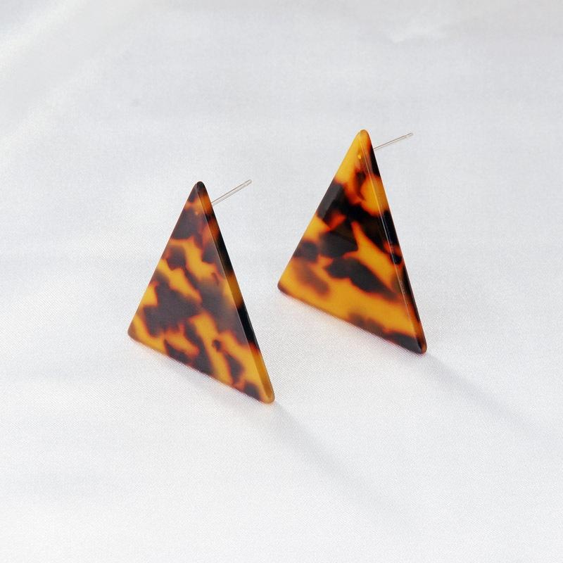 Mode Dreieck Acryl Ohrringe Grohandel NHAYN336617