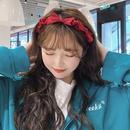 Korean solid color bow headband  NHAQ336646