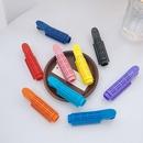 Korean solid color curling hair clip NHWB336650