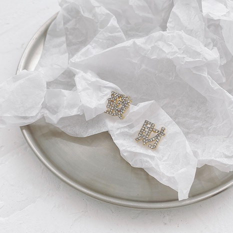 fashion Chinese characters earrings  NHWB336655's discount tags