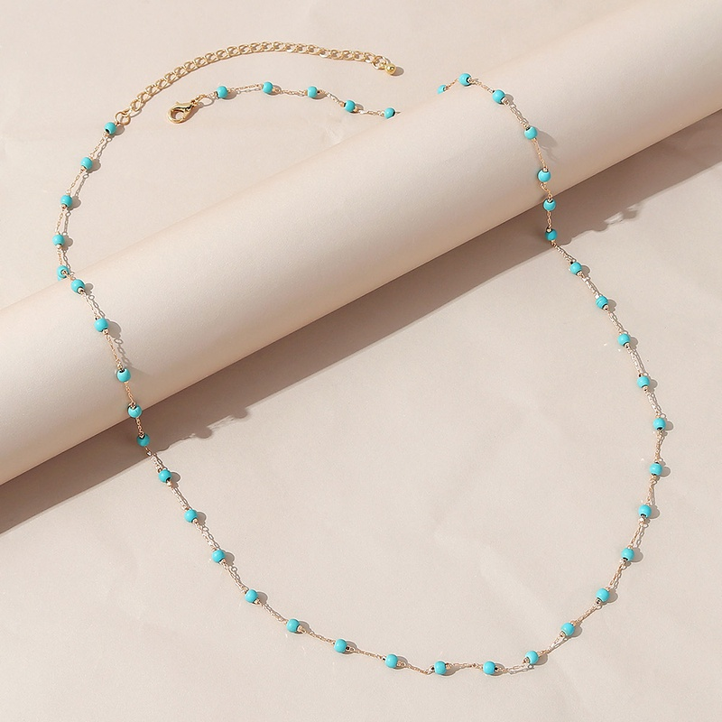 Simple geometric alloy waist chain wholesale NHPS336665