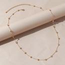 Simple small heart alloy waist chain wholesale NHPS336671