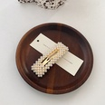 NHWB1557598-Golden-~-square-pearl-clip-about-7.5cm