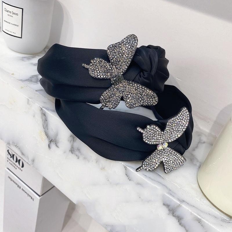 Korean threedimensional butterfly headband  NHSM336348