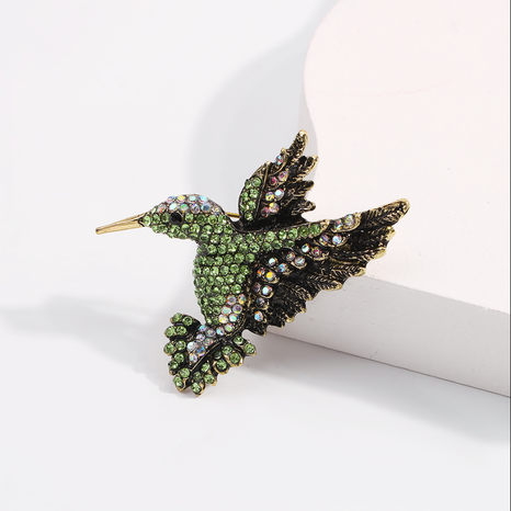 simple fashion Bird Brooch NHMD336188's discount tags