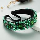 baroque fashion style  rhinestones headband NHLN336734