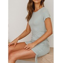 Fashion waist waist was thin and elegant temperament dress NHJG336680