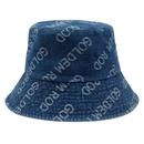 Korean cowboy letter short brim sunscreen fisherman hat NHXO336752