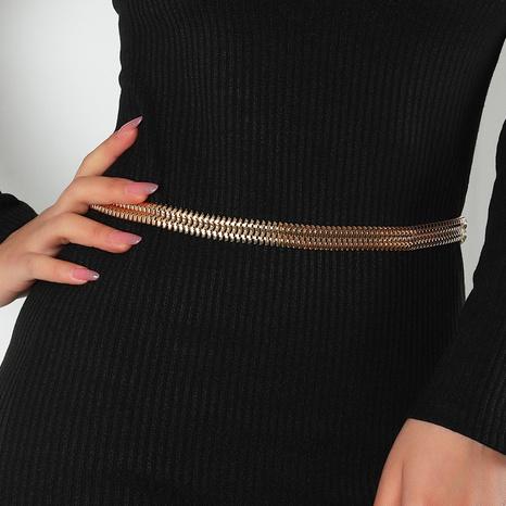Cadena de cintura de hueso de serpiente hueca coreana al por mayor NHAU336793's discount tags