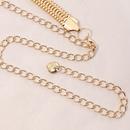 Korean hollow snake bone waist chain wholesale NHAU336793