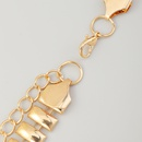 Korean snake bone waist chain NHAU336795