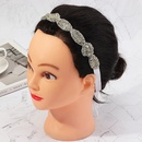 Fashion bridal rhinestone bow headband wholesale NHAU336798