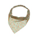 Fashion printing elastic triangle scarf headband wholesale NHAU336799