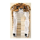 Korean tiger warm moving ears hat NHAMD336809