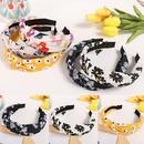 Korean daisy printing headband NHWB336866