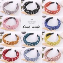 fashion pure color pearl headband wholesale NHWB336868