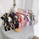 Korean stripe bowknot hairband wholesale NHWB336876