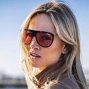 Fashion big frame onepiece sunglasses wholesale NHFY336885