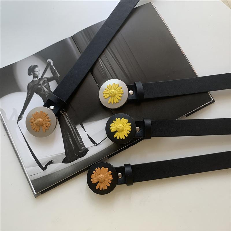 fashion daisy buckle belt wholesale NHWP336892