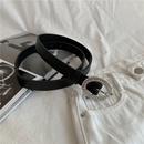 fashion inlaid with diamonds thin belt NHWP336897