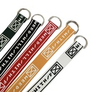 fashion double loop printing canvas belt NHWP336898