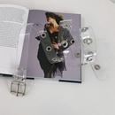 Wholesale transparent plastic square buckle belt NHWP336901