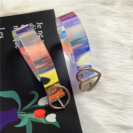fashion colorful pvc belt  NHWP336903's discount tags