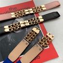 simple elastic metal chain thin belt  NHWP336907