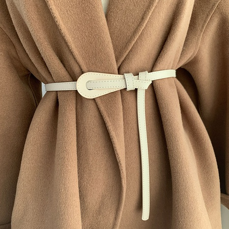 simple knotted belt wholesale NHWP336917's discount tags