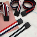 fashion striped nonporous canvas belt NHWP336916
