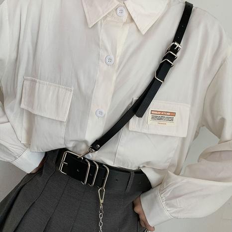 fashion shoulder strap detachable belt  NHWP336919's discount tags