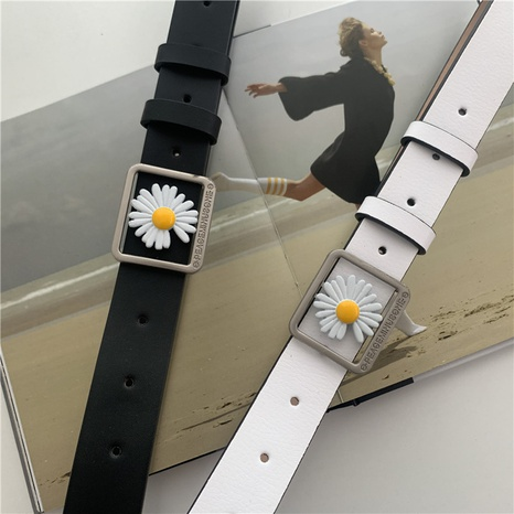 retro daisy buckle belt  NHWP336927's discount tags