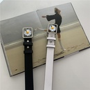 retro daisy buckle belt  NHWP336927