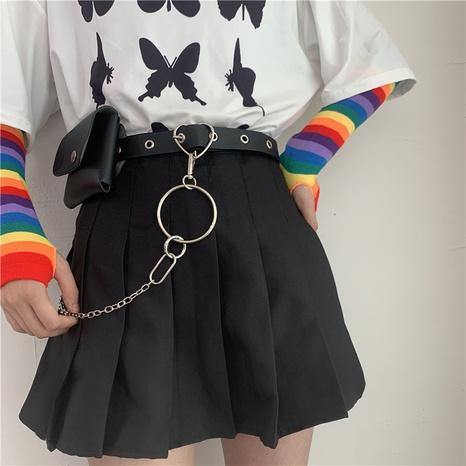 punk punch-free small waist bag belt  NHWP336929's discount tags