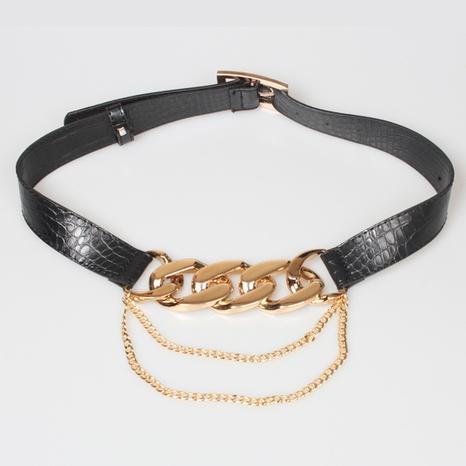 fashion metal thick chain girdle NHJSR336944's discount tags