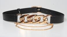 fashion metal thick chain girdle NHJSR336944