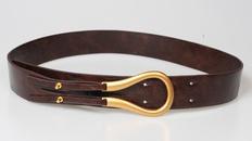 fashion Ushaped buckle wide belt NHJSR336946