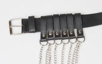 fashion chain tassel black belt NHJSR336953