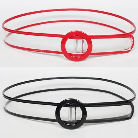 simple contrast color transparent belt  NHJSR336964's discount tags