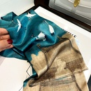 ethnic style printing mulberry silk scarf  NHCJ336987