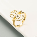 fashion hollow palm oil dripping ring  NHLN337000