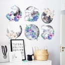 Fashion Chinese style ink painting wall stickers wholesale NHAF337013