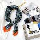 Korean thin silk square scarf wholesale NHMN337038