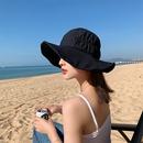 Fashion folded lace big brim breathable cloth hat NHALD337041