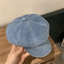 Korean cowboy blue octagonal hat wholesale NHALD337051