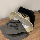 Korean sunshade flat top fisherman hat NHALD337064