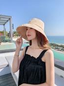 Korean embroidery sunshade fisherman hat wholesale NHALD337075